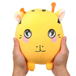 22cm 8.6Inches Stor Squishimal Stor Storlek Fylld Kitty Squishy Toy Slow Rising Present Collection