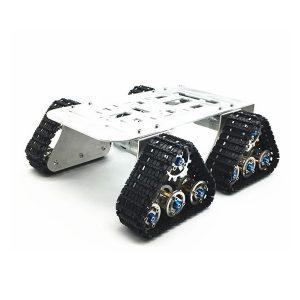 4WD DIY Smart Robot Tank Bil Chassi Med Crawler Kit för Arduino