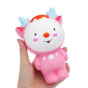 Fawn Squishy 15 * 11CM Långsam Rising biltoon Present Collection Soft Toy