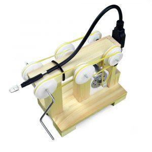 DIY Hand-cranked Generator Experimentell sammansatta modellleksaker