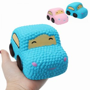 Squishy bil Racer Cake Mjukt Långsam Rising Toy Scented Squeeze bröd