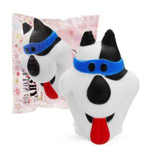 Puppy Hund Squishy 9.8 * 7.8CM Långsam Rising Soft Leksaker  Collection med förpackning