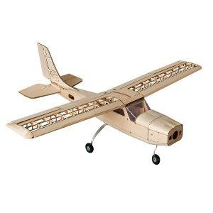 Cessna 960mm Wingspan Balsa Wood RC Flygplan KIT