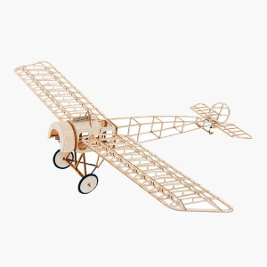 Fokker E3 480mm Wingspan Balsa Wood Laser Cut RC Flygplan KIT