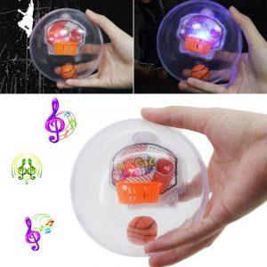 Plast Roterande Fidget LED Ljuskorg ADHD Autism Minska Stress Fokus Attention Leksaker