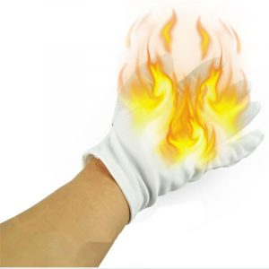 4 st Magic Prop Palm Fire Gloves Trick Roliga Leksaker