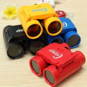 barn barnren's 2.5 x 26 Förstoring Toy Binocular Telescope + Neck Tie Strap