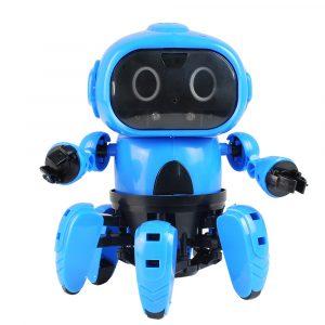 MoFun DIY Stam 6-legged Gesture Sensing Infrared Undvik Hindring Walking Robot Leksaker