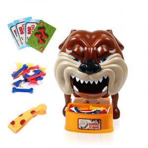 Var försiktig med Bulldog Board Game Föräldra-barn Spel Bite Hand Barnleksaker