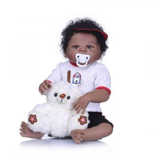 NPK 23 '' Full Vinyl Reborn baby docka Lifelike Boy Handsome Realistic Silicone baby docka Leksaker