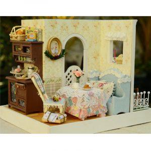 CUTE ROOM DIY Dockhus Hantverk Dockhus Marys Sweet Baking Miniature Kit Present