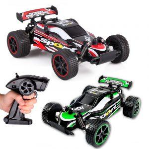 23211 1/20 2.4G 2WD Höghastighets Radiostyrda Racing Drift Bilvågsdrift Lastbil Elektriska Långväxelys