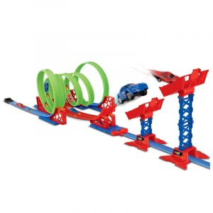 DIY Magic Tracks Böjning flera Race Track barns Leksaker Present