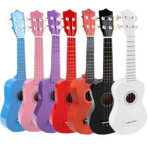Nybörjare Ukulele Uke Mahalo Sopran Musical Instrument barn