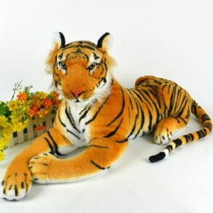 30cm Artificiell Tiger DjurPlush Docka Cloth barns Simulation Fyllda Leksaker