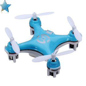 Cheerson CX-10 CX10 Mini 2.4G 4CH 6 Axel LED RC Quadcopter RTF