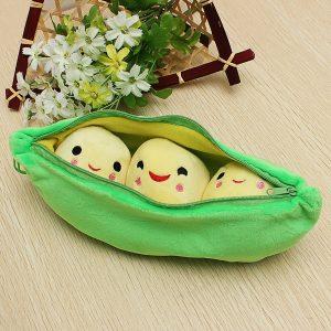 Plush Stuffed Toy Creativity 25cm Peasecod Holland Bean Docka