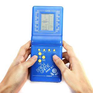 Tetris Game Hand Held LCD Elektroniska Spel Leksaker Nostalgiska Leksaker