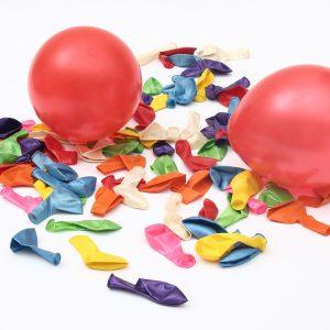 100st 10 '' Färgglada Air Latex Ballong Bröllopsfödelsedagsfest
