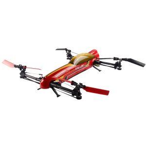 WLLeksaker V383 500 Elektrisk 3D 6G 6CH 50A ESC RC drönare Quadcopter