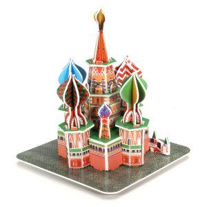 3D pussel  Mini DIY katedral Modell  Leksak