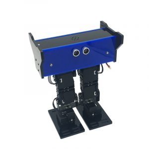 DIY 6DOF Pedagogisk APP Control Walking Robot Kit med Metal Digital Servos PS2 Controller