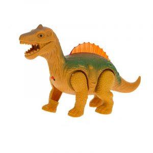 Elektrisk promenad Glödande Dinosaur Djur Modell Med Ljus Ljus För Barn Barn Present Leksaker