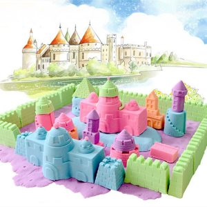 1000G Colorful Play Sand barn barn DIY Indoor Play Craft Non Toxic Clay Toy