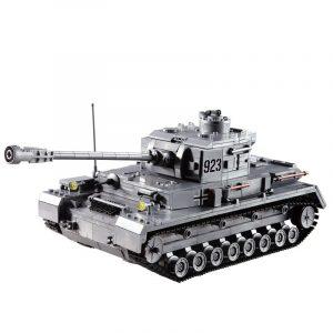 1193st Tankbyggnad Block Pedagogisk Leksaker med Fidget