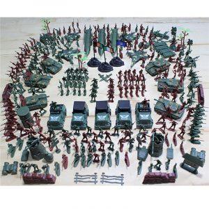307st 4-9CM Militär Soldat Armé Män Figur Modell Byggnadsdräkt För Barn Barn Present Leksaker