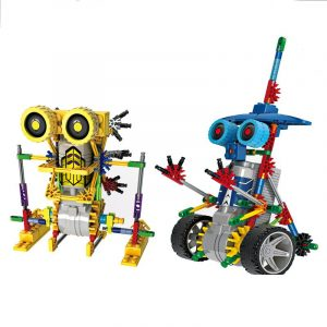 Robot Montering DIY Elektriska Byggstenar Dinosaur Modell Barn Leksaker