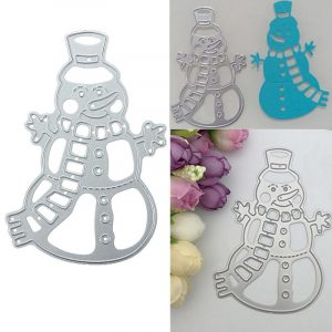 Metal Snowman Christmas Cutting Dies DIY Scrapbooking Album Paper bild Decor