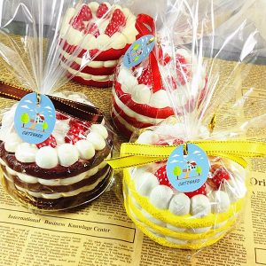Eric Squishy Cuteyard Tag Jumbo Strawberry Cake Licensed Slow Rising  Collection Present Inredning