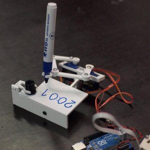 Plotclock Manipulator Ritrobot Robotic Clock med Arduino Controller