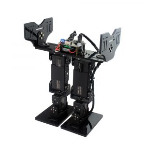 LOBOT 6DOF RC Robot Walking Turner Somersault Programmerbar APP Bluetooth Control Robot Kit