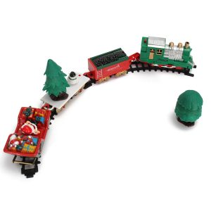 Christmas Musical Light Tracks Train Set 20 Piece With Trees Vagnar barns Toy