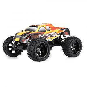 Radiostyrd RC Racing Bil,4WD Borstlös Monster Truck RTR