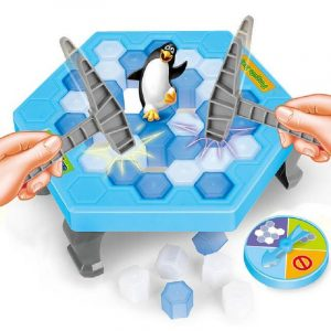 Ice Breaking Spara Penguin Great Family Fun Game för jul