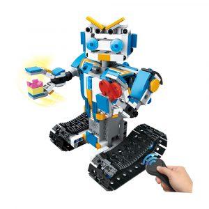 MoFun M4 2.4G 4CH DIY Byggblock Fjärrkontroll Smart Robot Toy