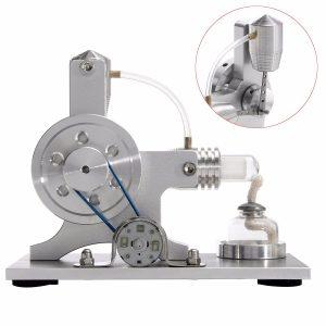 Stirling Motormodell Fysisk motoraggregat Ekstern förbränning Utbildningsleksak