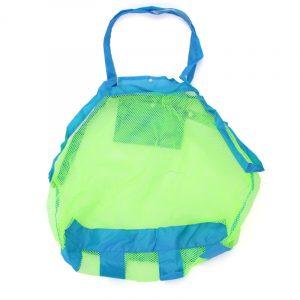 Leksaker Tool Kläder Förvaring Insamling Påse Tote Mesh Bag Mamma baby Barn Inomhus Utomhus Beach Bag