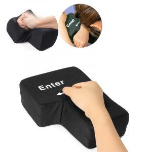 Ny stor USB-tangentknapp Hemmakontor Nätkudde för kudde-resväska reducerar stresslekar