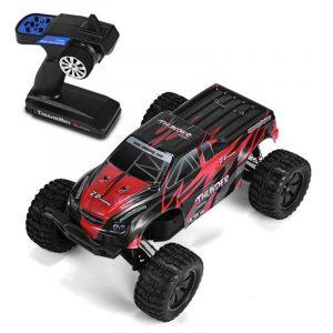 Radiostyrd RC Bil,ZD Racing 9106-S 1/10 Thunder 2.4G 4WD Borstlös 70KM / h Racing Radiostyrda Bil Monster Truck RTR Leksaker