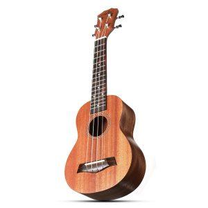 """Zebra 21 """"Ukulele 15 Frets Musikinstrument Mahogany Panel Finger Board Rose Wood"""