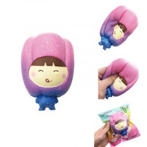 SquishyFun Sweet Pepper PU Simulering Bröd 13cm Långsam Rising Med Packaging Collection Present Soft Toy