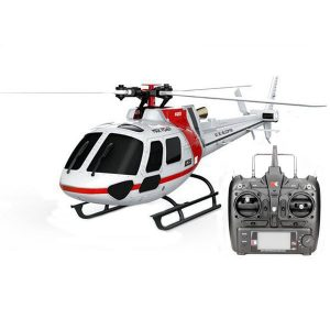 XK K123 6CH Borstlös AS350 Scale RC Helikopter RTF Mode 2
