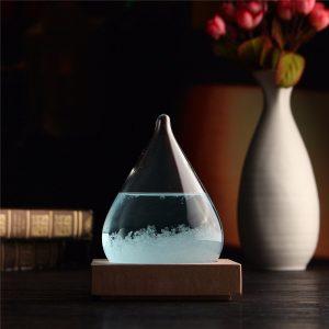 Väderprognos  Kristall Vatten  Form Flaska  heminredning