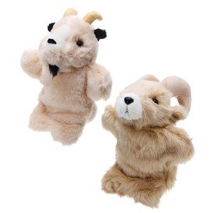 27cm fylld leksak antilop fairy tal hand handduk klassiska barn figur leksaker plush djur