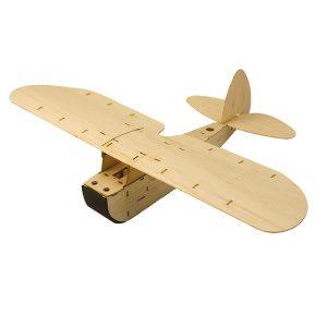 ZYO-6 Balsawood Hand Launch Free Flight Glider RC Flygplan KIT