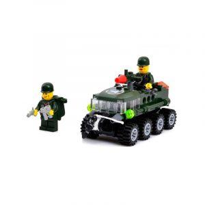 102st Armored bil pedagogisk Byggblock Fidget Leksaker